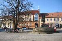 Masarykovo náměstí v Uh. Brodě. Ilustrační foto.