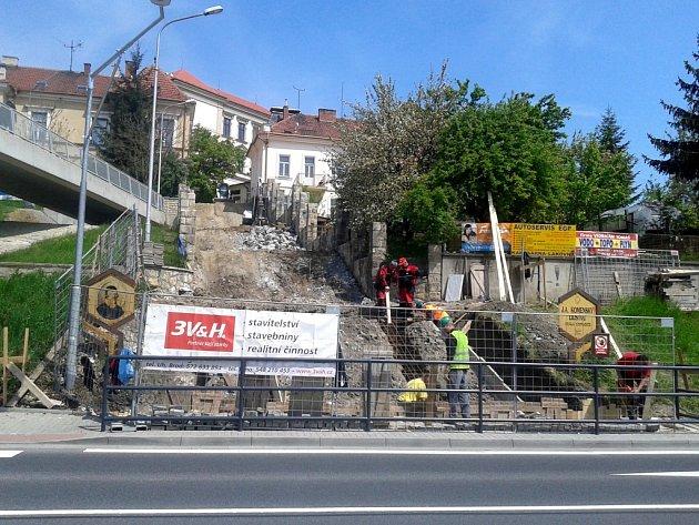 3. etapa dokončení dopravního terminálu v Uh. Brodě