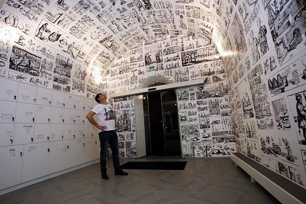 Zrekonstruovaná expozice v muzeu J. A. Komenského v Uherském Brodě.