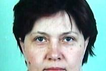 Pohřešovaná Jarmila Smělíková z Nedakonic.