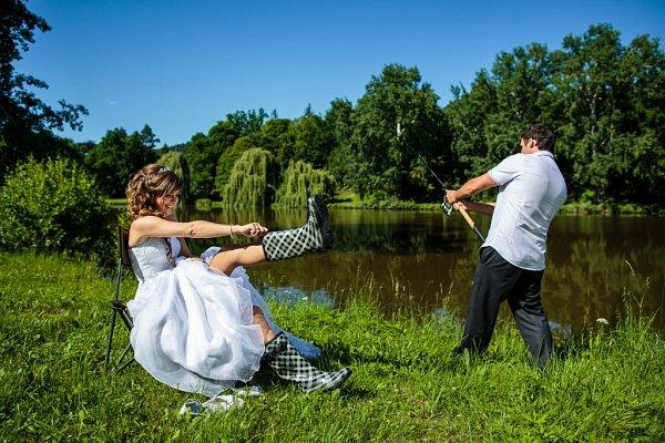 Soutěžní svatební pár číslo 157 - Alena a Jan Pospíšilovi, Lutín