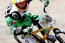 Dušan Hůlka si v závodě evropského poháru v Ženevě vedl na jedničku, až ve finále ho přibrzdila hromadná kolize.