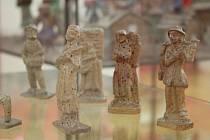 Mezi unikátními betlémy vystavenými ve Slováckém muzeu bude i relikviářový betlém s relikvií neznámého světce z konce 18. století, betlém z těsta, či výtvor s tisícovkou barevných figurek.