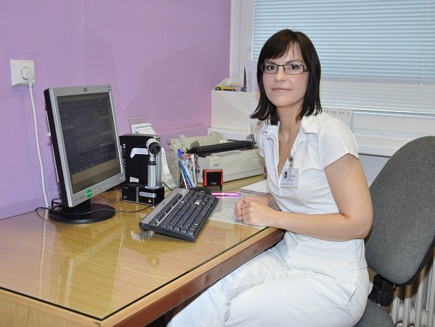MUDr. Alena Štukavcová, dermatoložka a primářka kožního oddělení