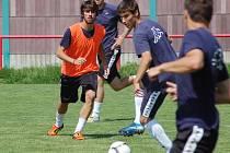 1. FC Slovácko zkouší sedmnáctiletého utočníka z Kypru. Kristis Andreou hrál v AEL Limassol.