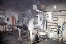 Požár v dřevařské firmě ve Strání likvidovaly tři jednotky hasičů