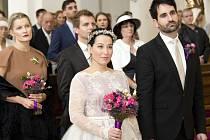 Herečka Jitka Josková se v sobotu v Hradišti vdala