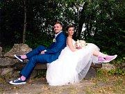 Soutěžní svatební pár číslo 127 - Renáta a Lukáš Sečtí, Olomouc