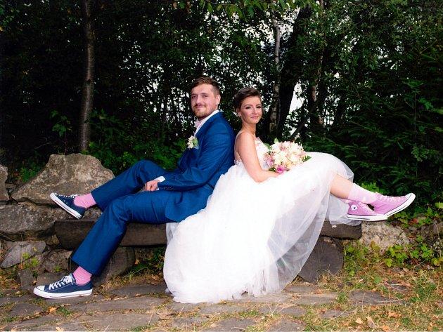 Soutěžní svatební pár číslo 149 - Veronika a Michal Zbrankovi, Karolinka
