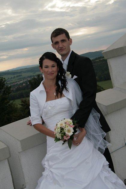 Soutěžní svatební pár číslo 60 - Martina a Jiří Pytelovi, Bojkovice.
