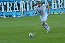 Fotbalisté Slovácka (bílé dresy) ve čtvrtek večer hostili  v odvetě Evropské konferenční ligy bulharský celek Lokomotiv Plovdiv.