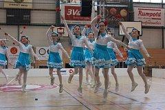 V Uherském Brodě se o víkendu představilo osmačtyřicet týmů z celé Moravy. Účastníci byli  rozdělen podle čtyř věkových kategorií na technické a estetické.