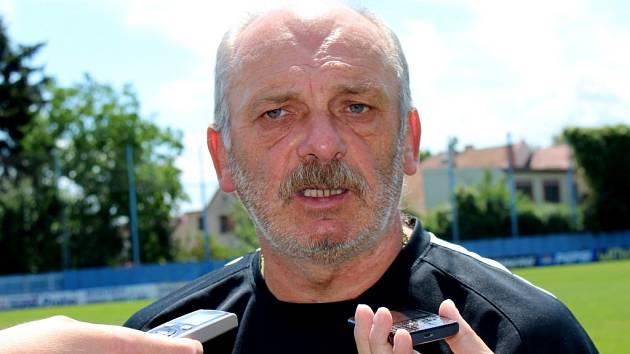 Bývalý trenér a sportovní ředitel Slovácka Stanislav Levý.