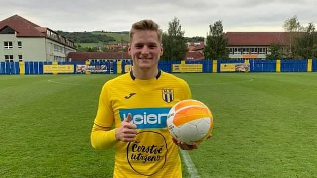 Střídající Ondřej Čaňo rozhodl nedělní divizní zápas fotbalistů Strání s HFK Olomouc.