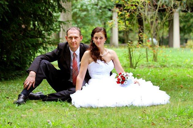 Soutěžní svatební pár číslo 174 - Martin a Eva Motlovi, Křelov-Břuchotín