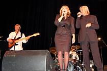 Hana Zagorová a Petr Rezek vystupovali v Uherském Brodě