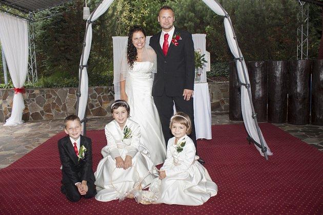 Soutěžní svatební pár číslo 131 - Hana a Dalimil Králíkovi, Vsetín