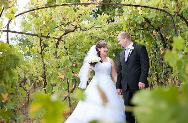 Soutěžní svatební pár číslo 57 - Martina a Miloslav Hajdůchovi, Dolní Němčí.