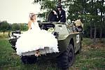 Soutěžní svatební pár číslo 97   – Staňka a Libor Turečkovi, Horní Němčí