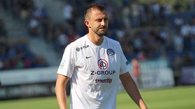 Bývalý stoper Slovácka Jiří Krejčí odehrál v lize 263 zápasů.