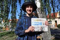 Osmnáctiletý Hradišťan Maxim Jilík na pěší cestě do Rijeky k Jaderskému moři.
