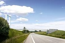 Projekt za čtyřicet milionů korun obsahuje dvě lávky přes obchvat a Olšavu, které spojí sídliště Olšava se zbytkem Uherského Brodu.