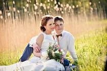 Soutěžní svatební pár číslo 114 - Marie a Hynek Tvrdí, Štítná nad Vláří