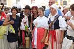 Mikroregion Staroměstsko se na Slavnostech vína v Uherském Hradišti představil na nádvoří pod Starou radnicí.
