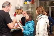 Den otevřených dveří na Střední umělecko průmyslové škole v Uherském Hradišti.