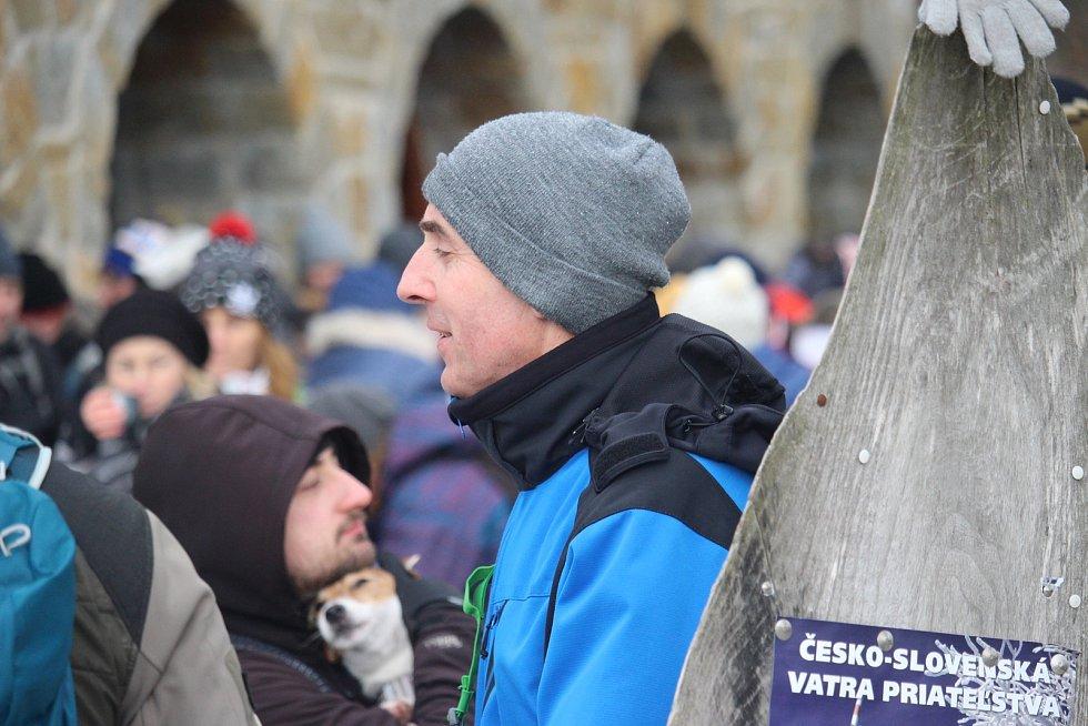 Silvestrovské setkání na Velké Javořině 2019