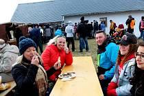 MASOPUST. První akce letošního roku přilákala v sobotu stovky lidí do Muzea v přírodě Rochus na slováckou zabijačku a za masopustními tradicemi.