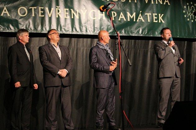 Páteční zahájení 13. ročníku Slavností vína a otevřených památek v Uherském Hradišti.