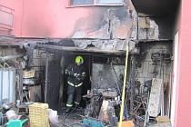 Ve čtvrtek v odpoledních hodinách vzplál sklep jednoho z rodinných domů v ulici Rtm. Křivdy.