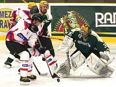 Hradišťští hokejisté ve Vsetíně neproměňovali ani ty nejvyloženější příležitosti
