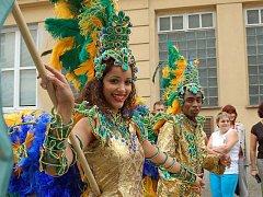 Pestrobarevný karneval v Uherském Hradišti
