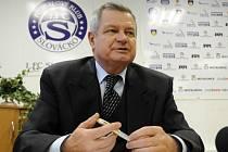 Předseda představenstva 1. FC Slovácko Zdeněk Zemek.