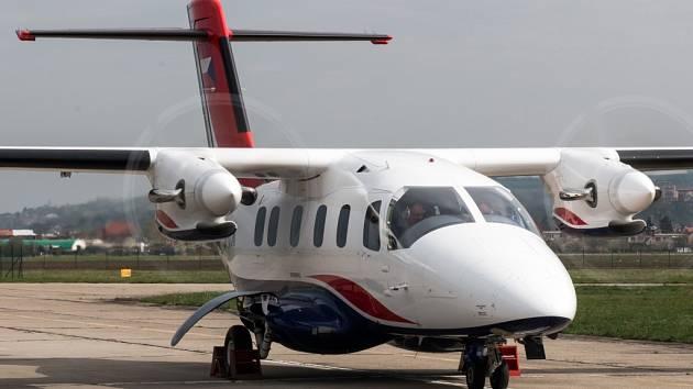 Z Kunovického letiště vzlétl už druhý prototyp nového letounu EV-55 Outback.
