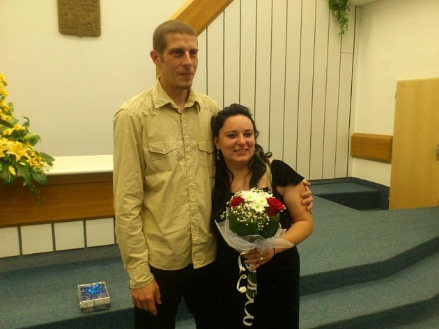 Soutěžní svatební pár číslo 11 - Dana a Tomáš Valentovi, Otrokovice.