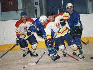 Hokejisté Uherského Ostrohu porazili Blansko