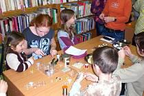 Veletinské děti tvořily výrobky s vánoční tématikou