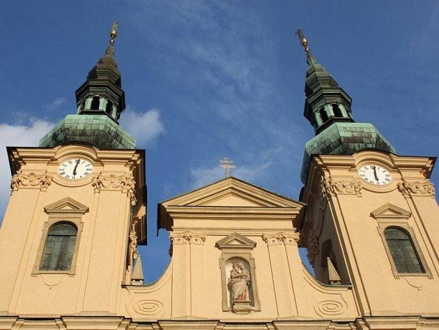 Bazilika na Velehradě. Ilustrační foto.
