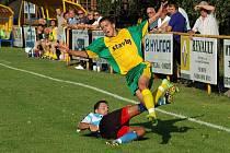 Fotbalisté Kněžpole a Boršic sehráli takticky výborné utkání.