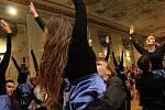 Ples Ad Astra velehradského gymnázia