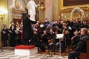 Půlnoční mše v bazilice na Velehradě připomněla výročí narození i smrti hudebního skladatele Jakuba Jana Ryby.
