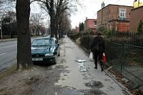 ojezdový chodník mohou využívat šoféři i chodci.
