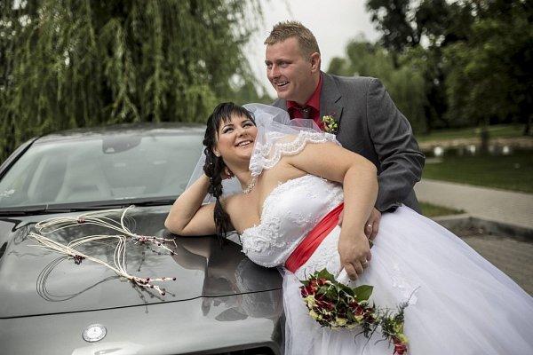 Soutěžní svatební pár číslo 48 - Jana a Tomáš Obdržálkovi, Březolupy.