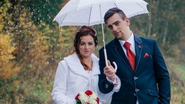 Soutěžní svatební pár číslo 70 - Iveta a Lukáš Divišovi, Olšany