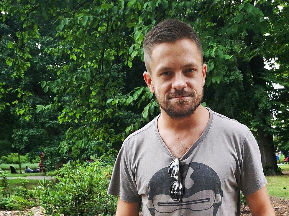 Jirka Mádl navštívil filmovou školu už potřetí.
