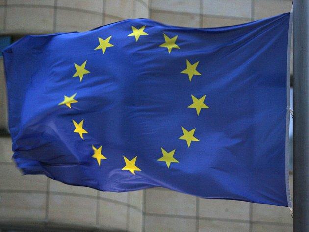 Vlajka Evropské unie. Ilustrační foto.