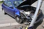 Opilá čtyřiačtyřicetiletá řidička, která ve čtvrtek 7. června 2018 narazila se svým vozem v místní části Vsetína Horní Jasenka do sloupu veřejného osvětlení, nadýchala 3,41 promile.
